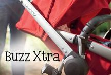 Quinny Buzz Xtra / The Buzz Xtra goes a little further than other strollers. Built with strong looks to match its bold nature, it is ready to explore every street and alley in town.
