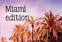 Miami edition / Quinny's limited edition of collection 2015,