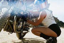 Bikers & Motorcycles / Bikers , Motorcycles and Fashion, photographe . / by Rosemary Sh