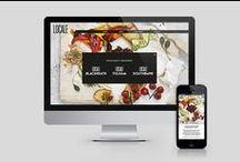 Locale / Brand Communications, Print Design, Digital Design  The Locale website created by The Marc Collective was so well received that the company owners decide torebrand and refurbish the interiors tobring them more in-line with their new on-line presence.