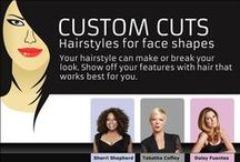 Best Hairstyles For You / Choose the most suitable hairstyle to complement your face shape @ www.awesome-stuff-i-like.siterubix.com