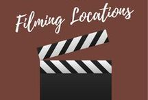 Filming Locations / Places that have been used as filming locations for movies and television shows.