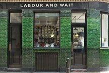 SHOP FRONTS + RESTAURANTS / inspiring retail facades, design + details