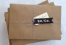 BRANDING + PACKAGING / ID / brand development + cool packaging ideas