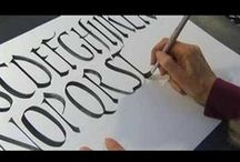 Caligrafía ✿ Calligraphy @ Crafteina /