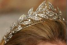 Star and Meander Tiaras