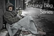 Blessing Bags / Blessing Bags are a great way to help the homeless.  Make them in batches as a family and have them in your car for when you see someone at an intersection with a sign asking for help or throw a couple in your purse when you go downtown.  They are a small, easy way to show you care and provide for the needs of the homeless.