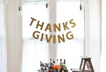Thanksgiving / Ways to connect with each other and make special memories with family and friends through thanksgiving DIY projects, traditions, and yummy food!