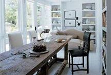 DINING ROOMS / inspiring dining rooms