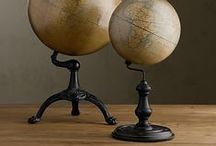 Globes / ancient globes