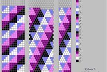 Crochet rope patterns | Wzory na sznury koralikowe