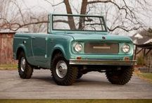 CARS - International Harvester Scout  / My FAVORIT American old suv