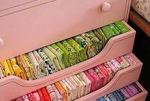 Be organized / Organization ideas for the craft studio and around the house.