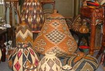 Baskets around the world - Traditional or contemporary, ethnic baskets / Visual source of traditional and contemporary baskets from cultures around the world. A stepping off point for your own basket designing