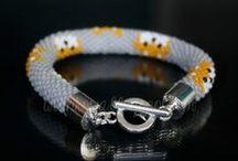 Moje bransoletki | Beaded bracelets
