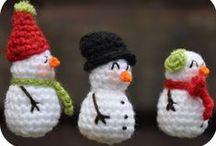 Xmas inspiration ✿ Navidad @ Crafteina / Christmas Crochet and other selected DIY craft projects for this season ✿ Ganchillo navideño y otras manualidades para esta temporada <3