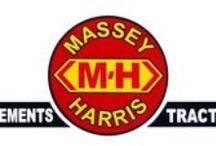Tracteur MASSEY-HARRIS