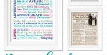design | molloy Personalized Giftgiving / Personalized Wall Art, Creative Prints, Meaningful Gifts,  Anniversary Gift, Word Art Gift, Customizable Gift, Customizable Wall Art, Milestone Gift, Family Design Print