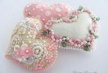 Pincushions (Various) / Pincushions and other sewing smalls for ideas and inspiration, and eye candy. / by Edith Russell