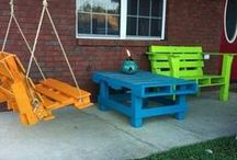 Pallet Ideas and Projects / All ideas and projects of pallet upcycling for home and gardem use / by Fab Art DIY