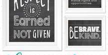 design | molloy Classroom Décor / Classroom Décor, Classroom Decor, Classroom Quote, Teacher Wall Art, Classroom Rules Sign, Behaviour Quote, Behavior Quote, Classroom Art, Chalkboard Print, Classroom Chalkboard Print