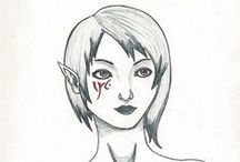 Yasorou's drawings