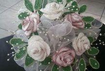 bouquet fiori all'uncinetto / Bouquet Sposa fiori ad uncinetto