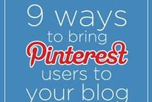 {Pinterest Tips You Can't Live Without} / Pinterest Tips for bloggers looking to increase their traffic through this social media platform.