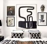 MONOCHROME  ROOMS / black + white