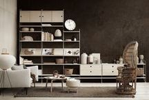 Stringspirations / String furniture is a leading Scandinavian design company best known for the minimalistic string® shelving system.