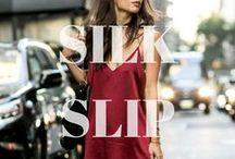 TREND: Silk Slip