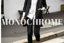TREND: Monochrome