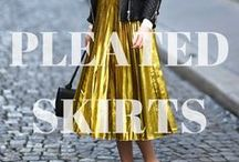 TREND: Pleated Skirts