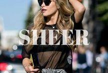 TREND: Sheer