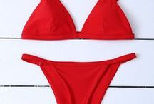 SPAGHETTI STRAP BIKINI / Spaghetti strap bikini