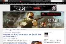 Game Editorial Reviews / by Pacifc War Game for iPad