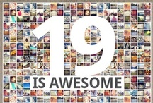 19isAwesome! / Want a free Android Speaker, RW car charger, t-shirt, or other cool gear!?!  Send us a pic on Instagram or Facebook featuring the number 19 and tag it with #19isAwesome!  / by Republic Wireless