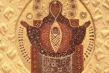 christian folk art and ethiopian