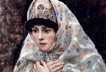 Russian woman's costume