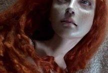 redhead art dolls