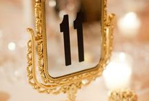 Table Numbers and Place Settings