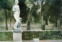 russian impressionism, symbolism