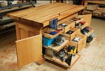 Woodworking: The Perfect Woodshop / Plans, Tools, Organization of the Perfect Woodshop