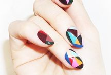 Nail Trends / I'm most likely not talented enough to do these designs, but doesn't mean I can't admire and pin them!