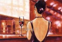 Wine Art / Great wine is made by more than just excellent science - it is truly an art! Plus, we love tasteful art! This board is about the wonderful combination of these loves - Wine and Art!