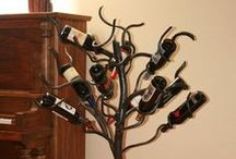 Wine Racks / Wine in short supply is never a good thing - be prepared! Have reserves! This board is full of ways to hold your wine bottles.