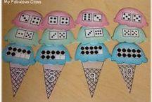 math 1 / attività di counting e subitizing per la classe prima