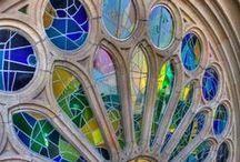 Ólomüveg, Festett üveg / Stained Glass