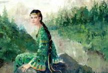 Mistress of Copper Mountain, underground world, stones