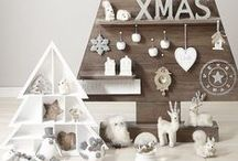 Alternative Christmas Trees / Sometimes you just don't have the space for a full size Christmas tree, or you fancy something a bit different. This board is full of alternative Christmas tree ideas to fit nicely into your home.